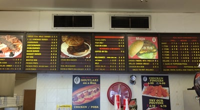 Photo of Burger Joint The Real McCoy Burgers And Pizza at 1021 Markham Road, Toronto, ON M1K 2Y5, Canada