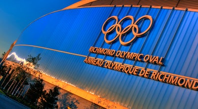 Photo of Athletics and Sports Richmond Olympic Oval at 6111 River Rd, Richmond V7C 0A2, Canada