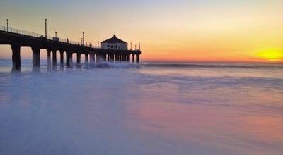Photo of Pier Manhattan Beach Pier at The Strand, Manhattan Beach, CA 90266, United States