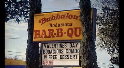 Photo of American Restaurant Bubbalou's Bodacious Bar-B-Que at 1049 E Altamonte Dr, Altamonte Springs, FL 32701, United States