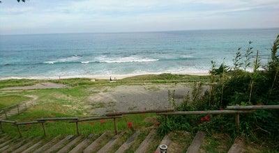 Photo of Beach 白浜中央海水浴場 at 白浜, 下田市, Japan