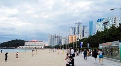 Photo of Beach Haeundae Beach at 해운대구, Busan 48100, South Korea