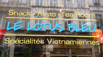 Photo of Asian Restaurant Le Lotus Bleu at Rue Du Midi, 70, Brussels 1000, Belgium