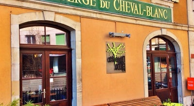 Photo of Modern European Restaurant Le Cheval Blanc Carouge at Place De L' Octroi 15, Carouge 1227, Switzerland