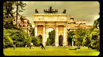 Photo of Park Parco Sempione at Piazza Castello, Milan 20121, Italy