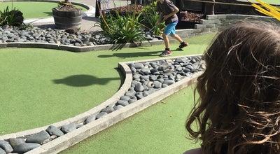 Photo of Tourist Attraction Lilliputt Mini Golf at 3 Tamaki Drive, Auckland 1052, New Zealand