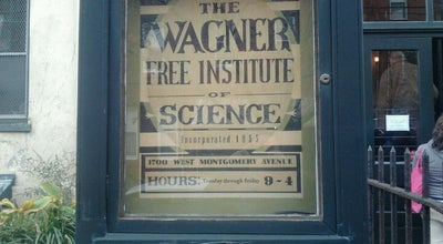 Photo of Tourist Attraction Wagner Free Institute of Science at 1700 W Montgomery Ave, Philadelphia, PA 19121, United States