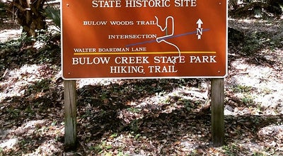 Photo of Park Bulow Creek State Park at 3351 Old Dixie Hwy, Ormond Beach, FL 32174, United States
