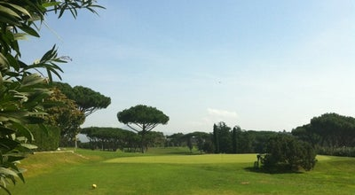 Photo of Golf Course Golf Club Acquasanta at Rome, Italy
