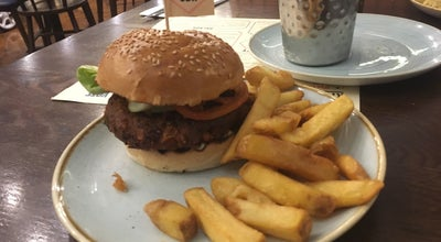 Photo of American Restaurant Gourmet Burger Kitchen at 49a St. Peters Street, Canterbury CT1 2BE, United Kingdom