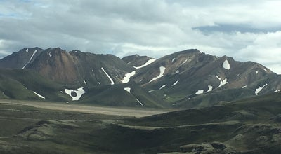Photo of Campground Landmannalaugar at Iceland