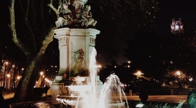 Photo of Park Fuente de Apolo at Plaza De Cánovas Del Castillo, Madrid, Spain