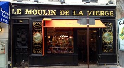 Photo of Restaurant Le Moulin de La Vierge at 64 Rue Saint Dominique, Paris 75007, France