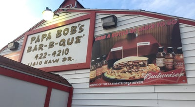 Photo of American Restaurant Papa Bob's Bar-B-Que at 11610 Kaw Drive, Bonner Springs, KS 66111, United States