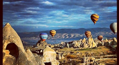 Photo of Scenic Lookout Kapadokya at Göreme, Nevşehir, Turkey