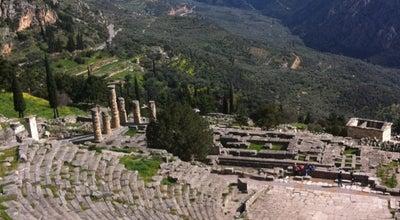 Photo of Historic Site Αρχαιολογικός Χώρος Δελφών (Archaeological Site of Delphi) at Αρχαιολογικός Χώρος Δελφών, Δελφοί 330 54, Greece