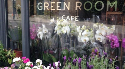 Photo of English Restaurant The Green Room Cafe at 113 Stoke Newington Church Street, London N16 0UD, United Kingdom