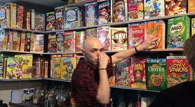 Photo of American Restaurant Cereal Killer Cafe at 139 Brick Lane, London E1 6SB, United Kingdom