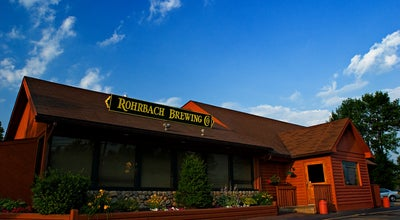 Photo of American Restaurant Rohrbach Brewing Co at 3859 Buffalo Rd, Rochester, NY 14624, United States
