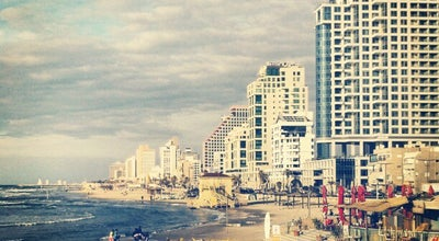 Photo of Beach Banana Beach (בננה ביץ') at Herbert Samuel St, Tel Aviv, Israel
