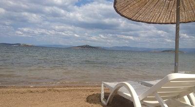 Photo of Beach Teknik Güç Sahil at Ayvalik, Balikesir, Turkey