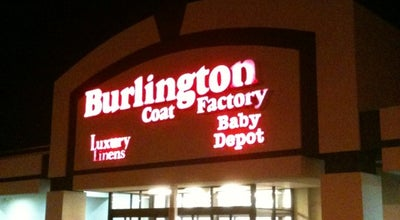 Photo of Clothing Store Burlington Coat Factory at 6747 Middlesex Mall, South Plainfield, NJ 07080, United States