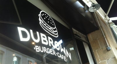 Photo of American Restaurant Dubrown burger at 12 Rue Saint Leonard, Nantes 44000, France