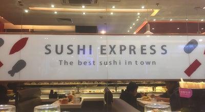 Photo of Sushi Restaurant Sushi Express Shuangjing at Located Next To Carrefour In Shuangjing, Beijing, Be, China