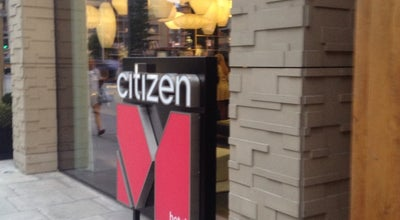 Photo of Hotel citizenM London Bankside at 20 Lavington Street, London SE1 0NZ, United Kingdom