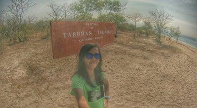 Photo of Beach Tabuhan Island at Indonesia
