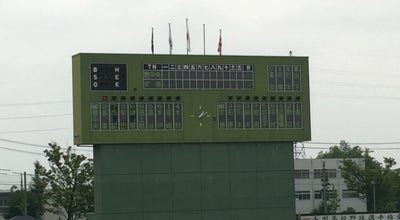 Photo of Baseball Stadium 小牧市民球場 at 上末3450-303, 小牧市, Japan
