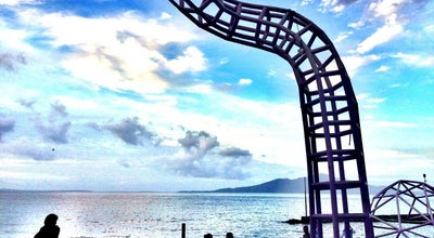 Photo of Beach Pantai Malalayang at Jalan Raya Trans Sulawesi, Manado, Indonesia