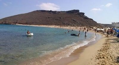 Photo of Beach Πάνορμος (Panormos Beach) at Παραλία Πάνορμος, Μύκονος 846 00, Greece