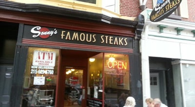 Photo of Restaurant Sonny's Famous Steaks at 228 Market St, Philadelphia, PA 19106, United States