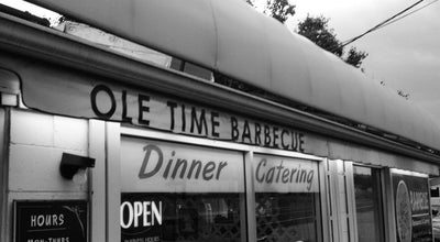 Photo of American Restaurant Ole Time Barbecue at 6309 Hillsborough St, Raleigh, NC 27606, United States