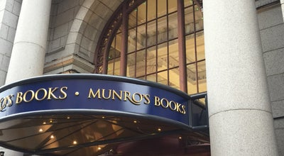 Photo of Tourist Attraction Munro's Books at 1108 Government St, Victoria V8W 1Y2, Canada