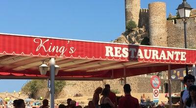 Photo of Mediterranean Restaurant King's at Passeig Del Mar, 7, Tossa de Mar 17320, Spain