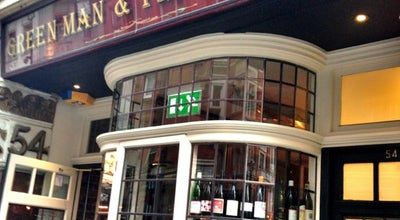 Photo of French Restaurant Green Man & French Horn at 54 St Martins Lane, Covent Garden WC2N 4EA, United Kingdom