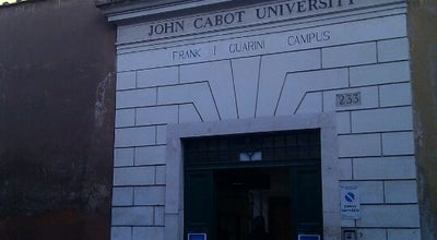 Photo of University John Cabot University at Via Della Lungara 233, Roma 00165, Italy
