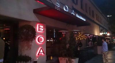 Photo of American Restaurant Boa Steakhouse at 101 Santa Monica Blvd, Santa Monica, CA 90401, United States