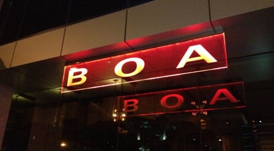 Photo of American Restaurant BOA Steakhouse at 9200 W Sunset Blvd, West Hollywood, CA 90069, United States