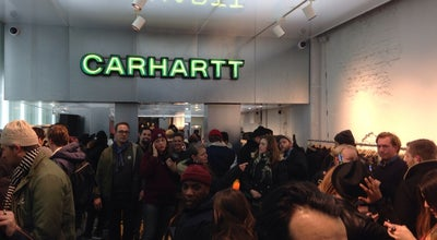 Photo of Clothing Store Carhartt at Hartenstraat 18, Amsterdam 1016 CB, Netherlands