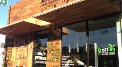 Photo of Other Venue Kreation Organic Cold Pressed Juicery at 9609 Santa Monica Blvd, Beverly Hills, CA 90210