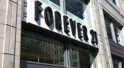 Photo of Clothing Store Forever 21 at 40 E 14th St, New York, NY 10003