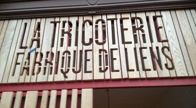 Photo of Cafe La Tricoterie - Fabrique de Liens at Rue Théodore Verhaegen 158, Saint-Gilles 1060, Belgium