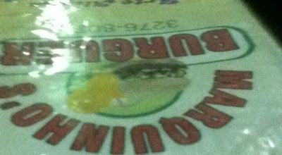 Photo of Burger Joint Marquinho's Burguer at R. Castro Alves, 370 - Centro, Governador Valadares 5010-310, Brazil