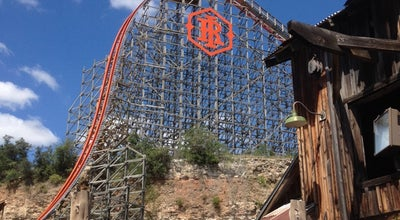 Photo of Theme Park Iron Rattler at Six Flags Fiesta Texas, San Antonio, TX 78257, United States