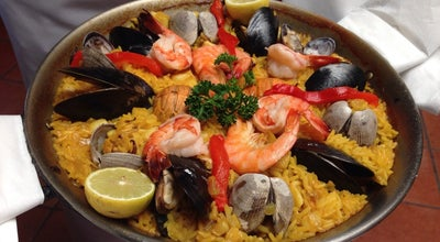 Photo of Spanish Restaurant La Paella at 476 S San Vicente Blvd, Los Angeles, CA 90048, United States