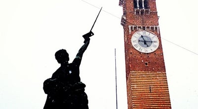 Photo of Monument / Landmark Torre dei Lamberti at Piazza Dei Signori, Verona 37121, Italy
