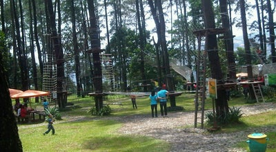 Photo of Trail Tretes Treetop Adventure Park at Indonesia